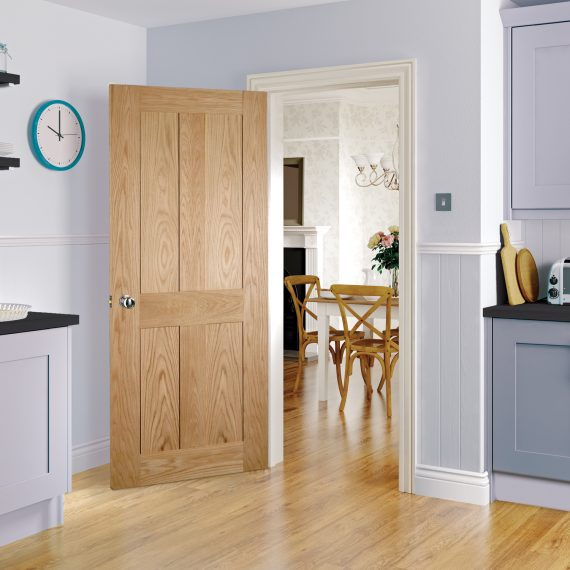 Eton interior oak door