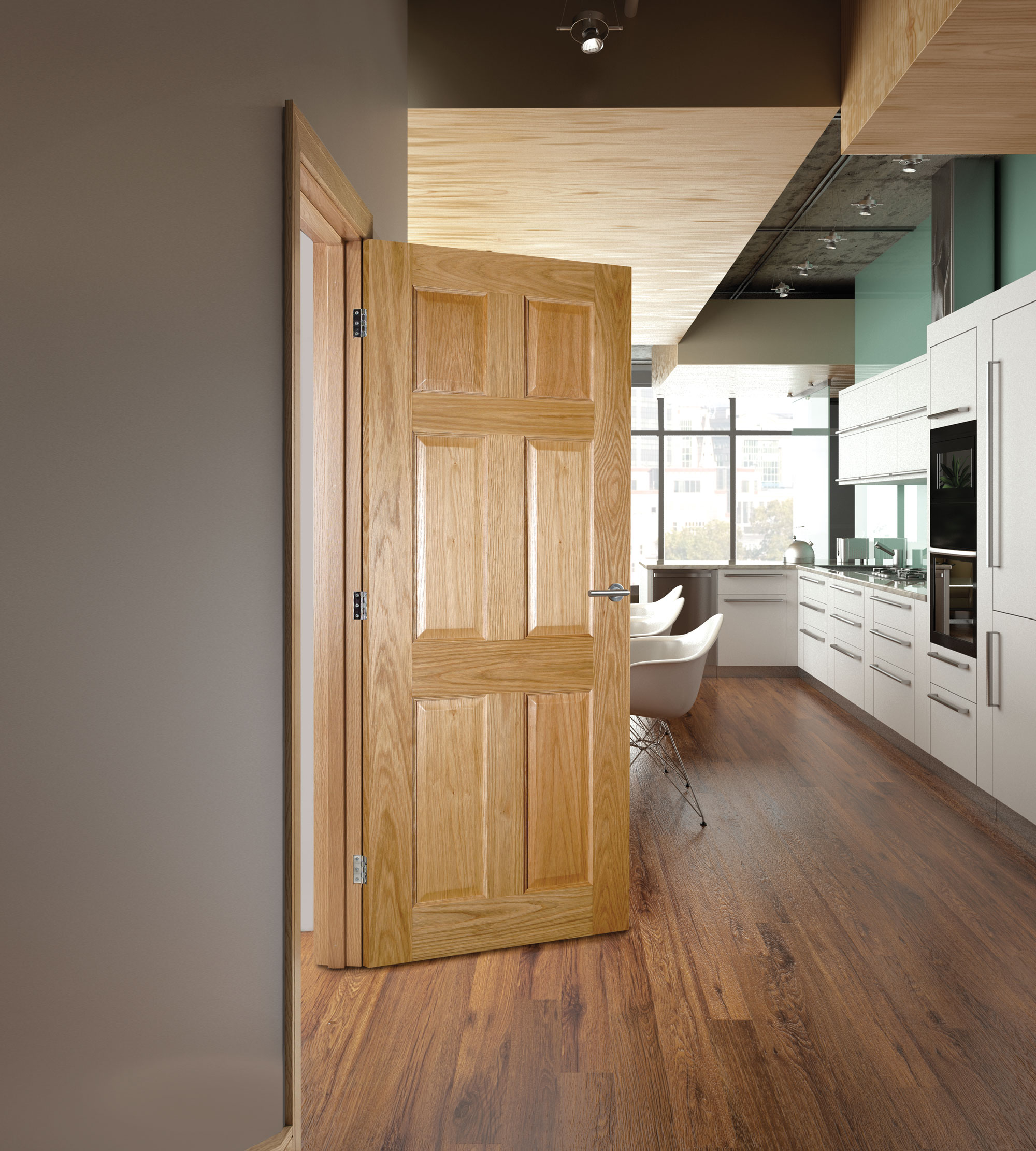 OXFORD interior oak door