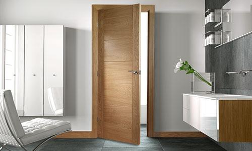 deanta oak solid internal door FD30