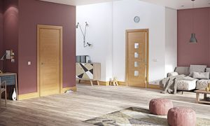 deanta oak doors