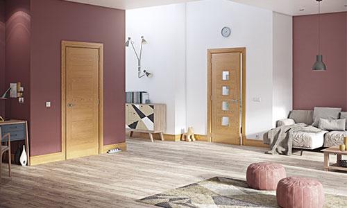 deanta oak doors