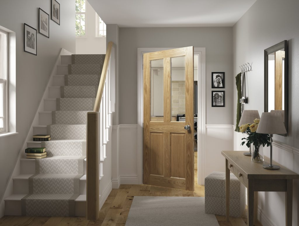 Inspiration Oak Walnut Amp White Primed Interior Doors