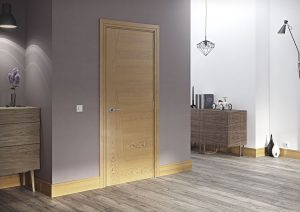 cadiz oak internal door in situ