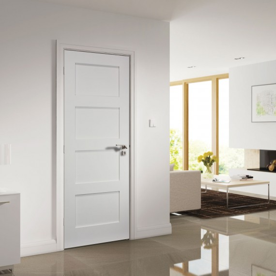 Coventry White Primed door