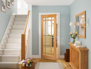 kerry oak internal door in situ