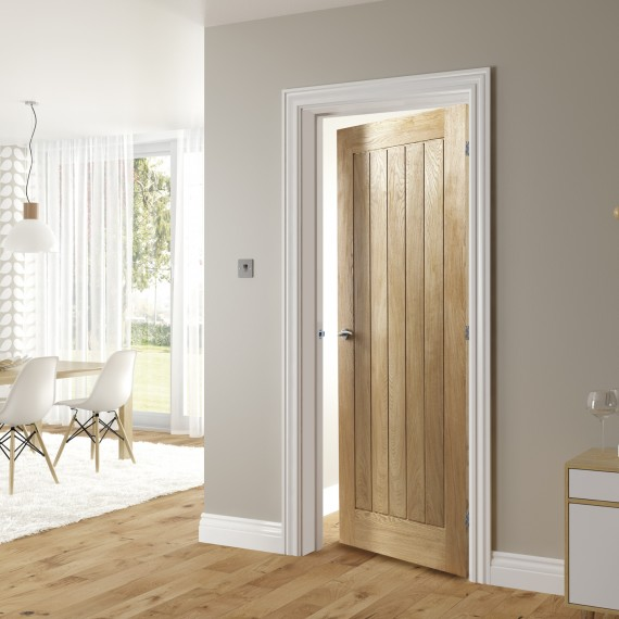 Ely Oak interior door