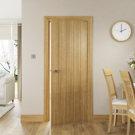 Galway Oak interior door