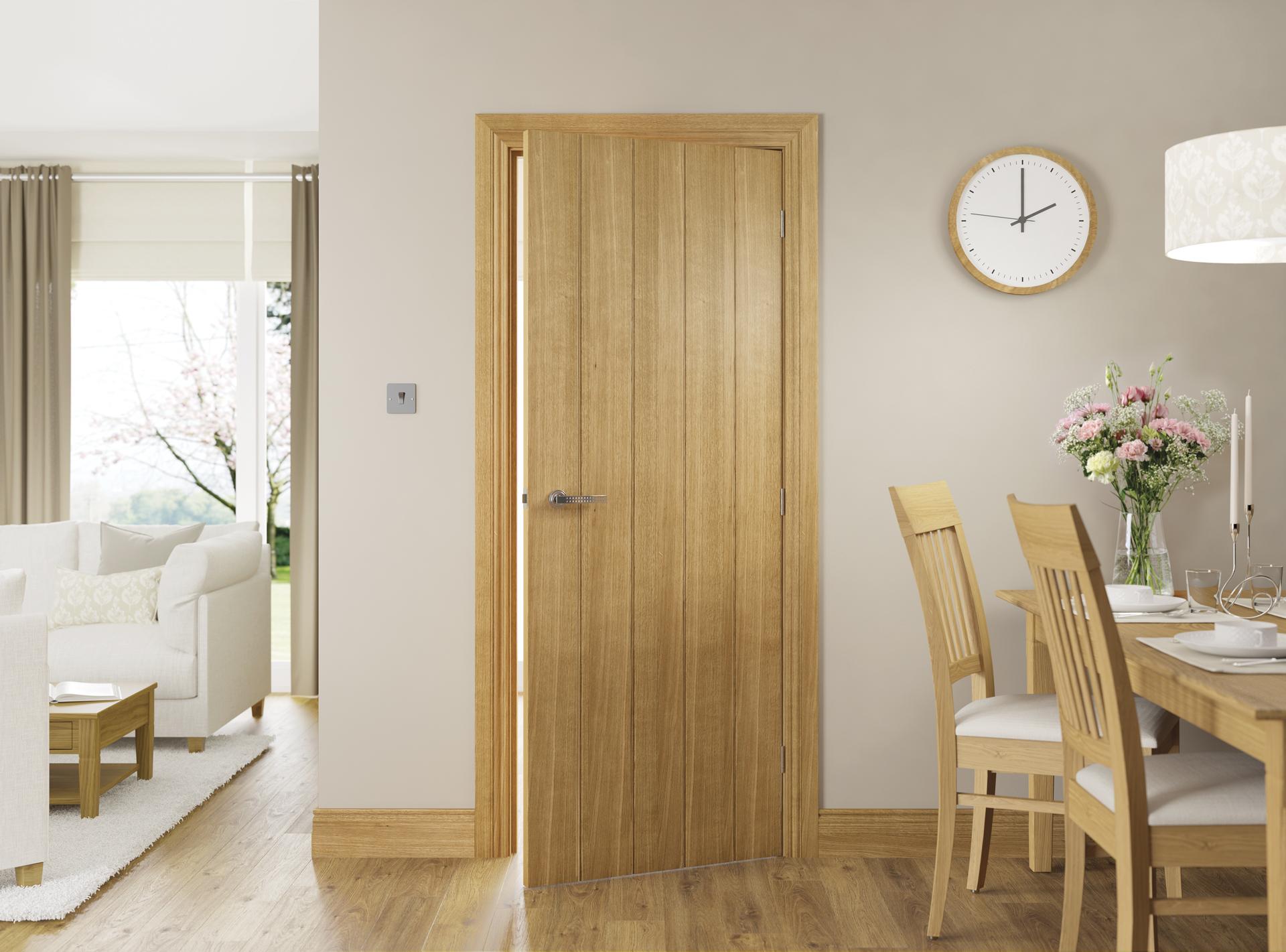 Galway Oak interior door