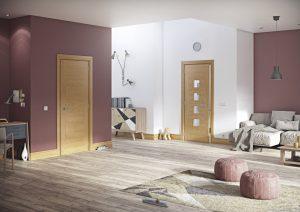 Pamplona interior oak door