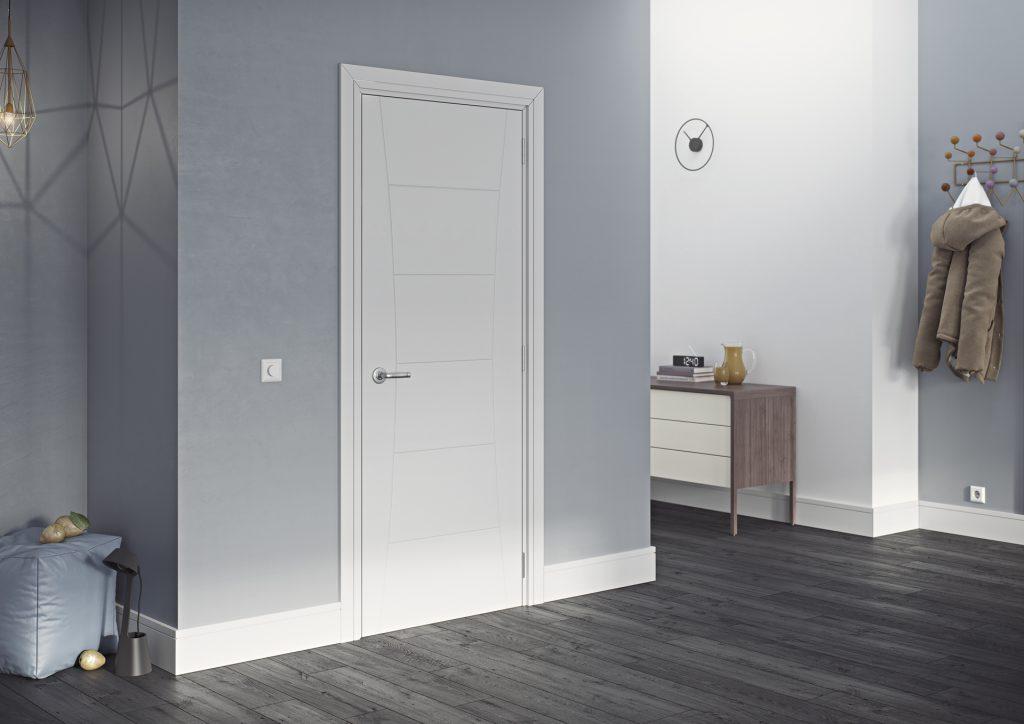 inspiration oak walnut white primed interior doors deanta