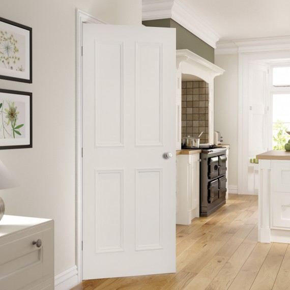 Rochester White Primed door