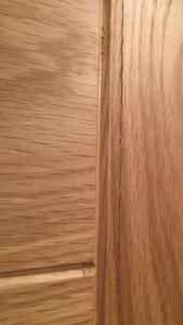 split oak veneer