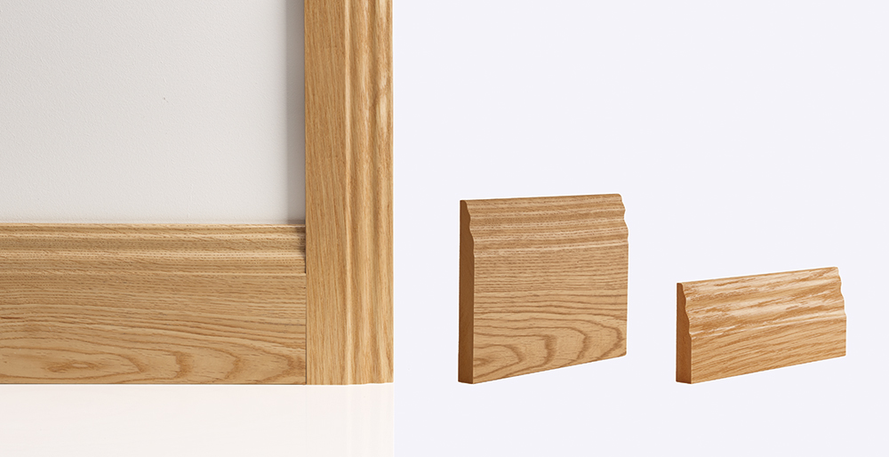 traditional oak skirting architrave