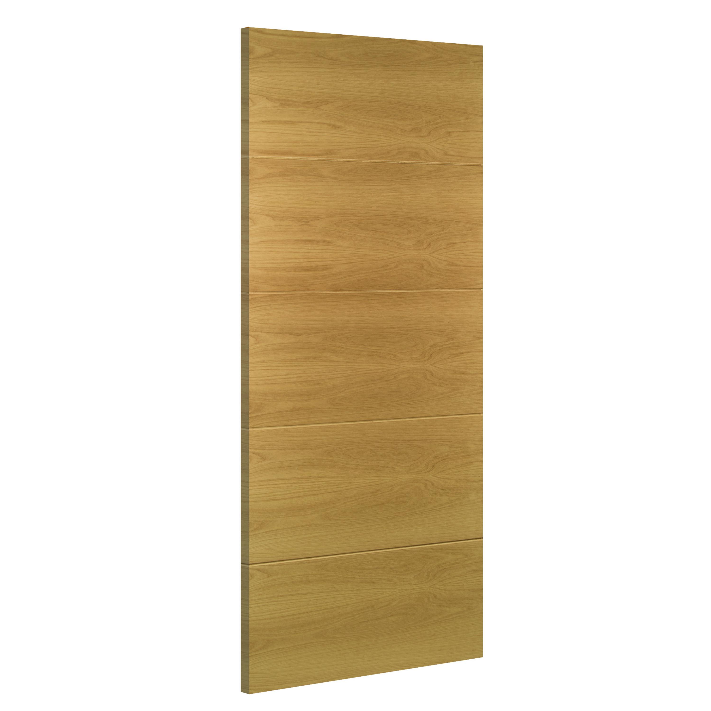 Augusta interior oak door