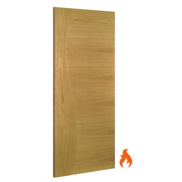 Cadiz interior oak fire door