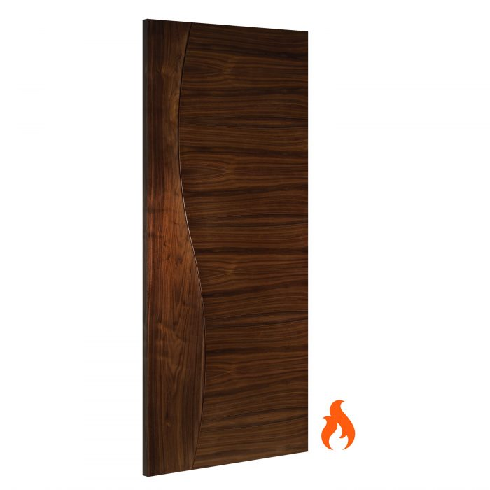 Cadiz Walnut interior fire door