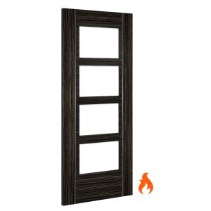 Calgary abachi unglazed interior fire door