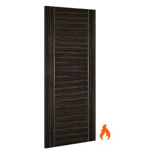 Calgary abachi interior fire door