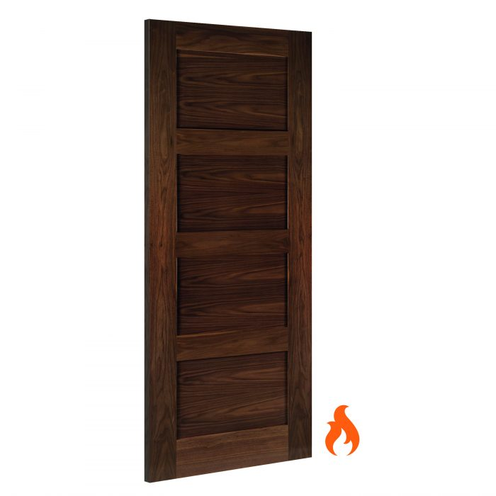 Coventry Walnut interior fire door