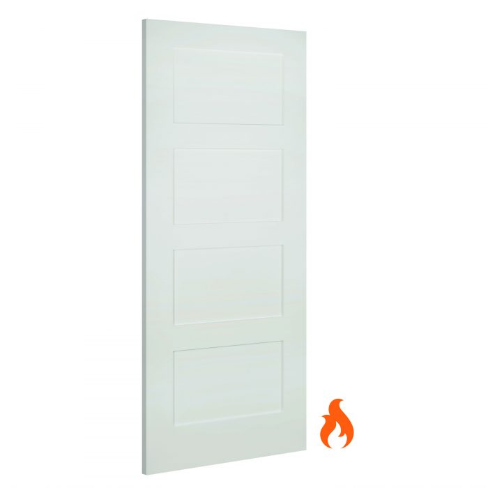 Coventry interior white fire door
