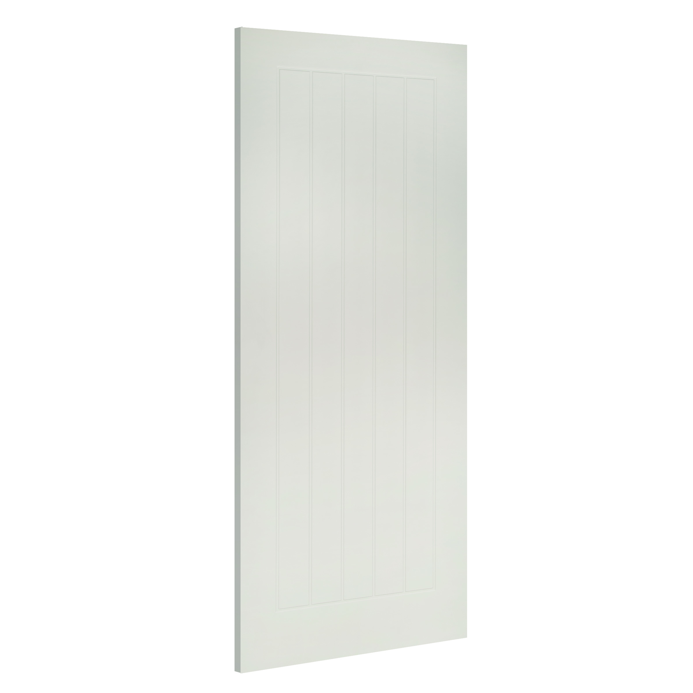 Ely white interior fire door