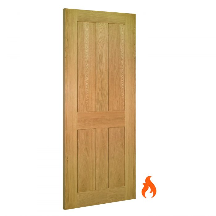 Eton interior oak fire door