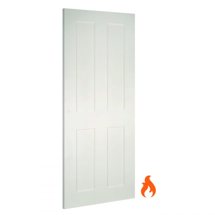Eton White interior fire door