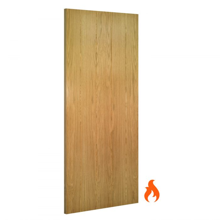 Galway interior oak fire door