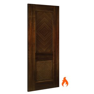 Kensington Walnut interior fire door