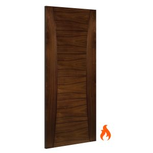 Pamplona Walnut interior fire door