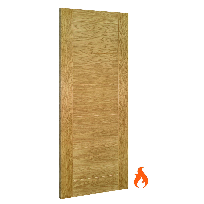 Seville Interior Oak Fire Door Deanta