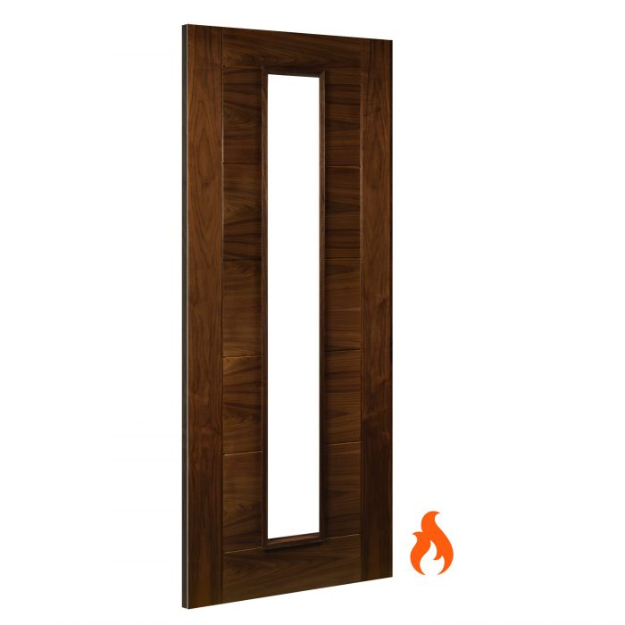 Seville Walnut interior fire door