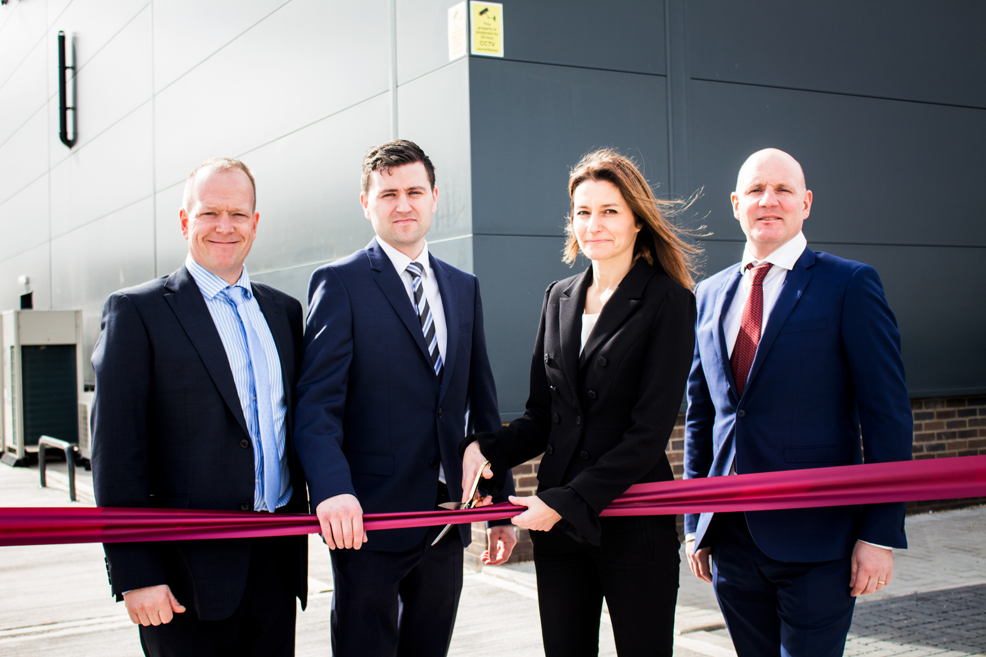 Official Opening of our New Building