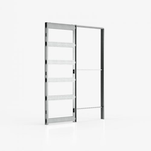 Deanta pocket doors-steel frame