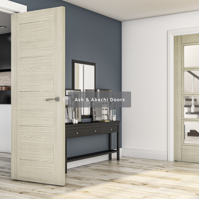 Deanta range of ash interior doors