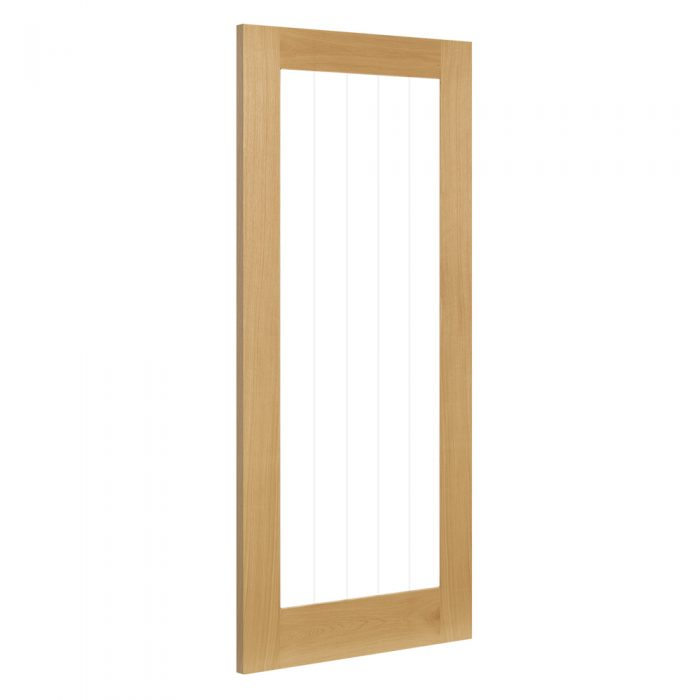 Ely door from Deanta oak internal doors collection