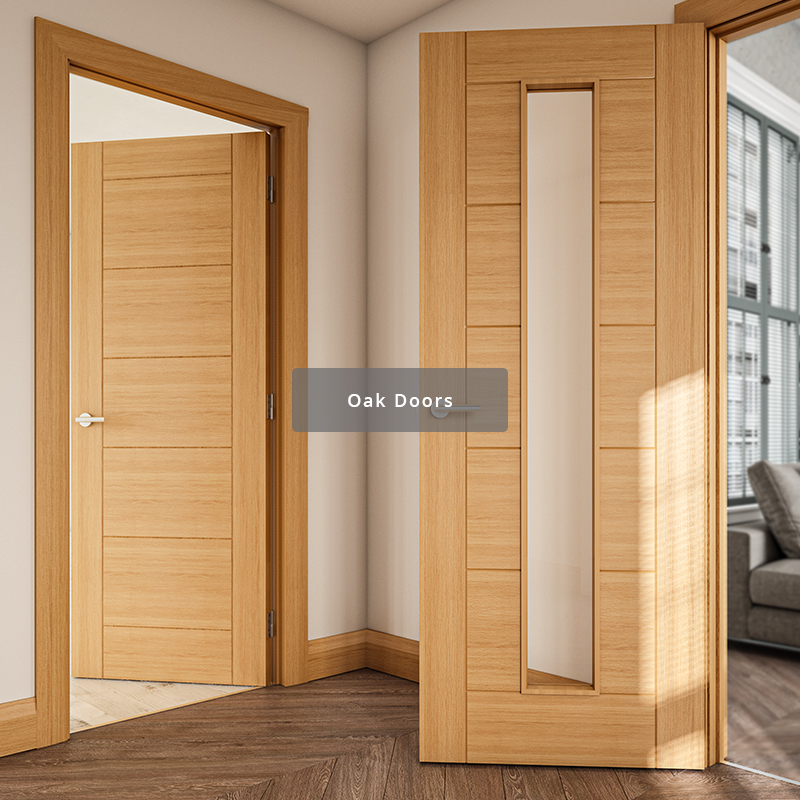 Deanta range of oak interior doors