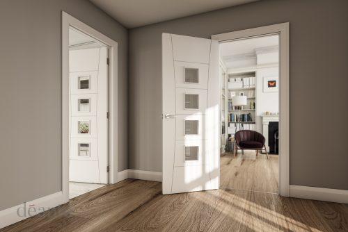 Pamplona-glazed-white-primed-interior-door