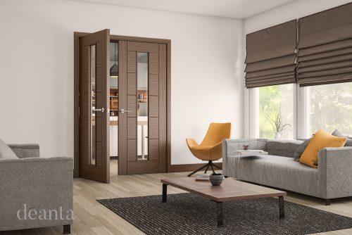 Seville-glazed-walnut-interior-door