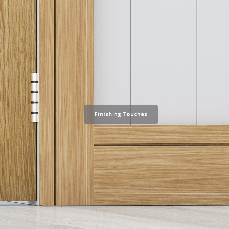 Deanta range of skirting, architraves and door frames