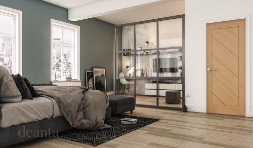 Torino-oak-interior-door