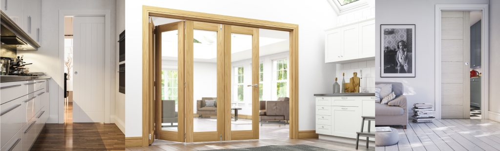 Image showing folding and pocket doors helping with the trend of creating multi functional rooms