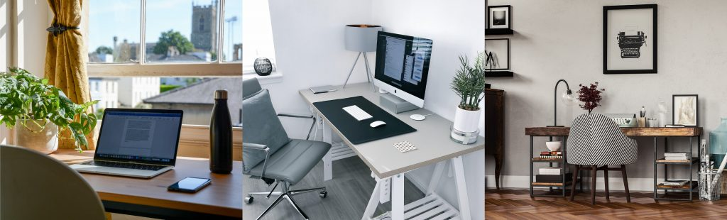 3 Home Office Setups