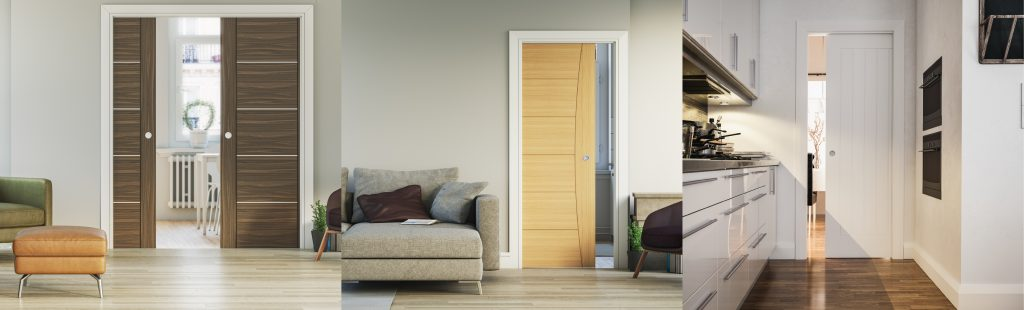 Image Showing Pocket Doors